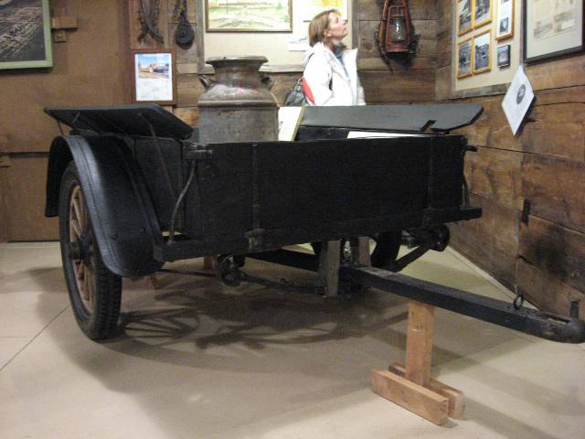 Restored, Original Warner Auto Trailer